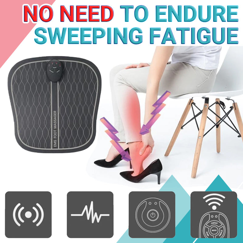 Ems Wireless Abs Foot Vibrator