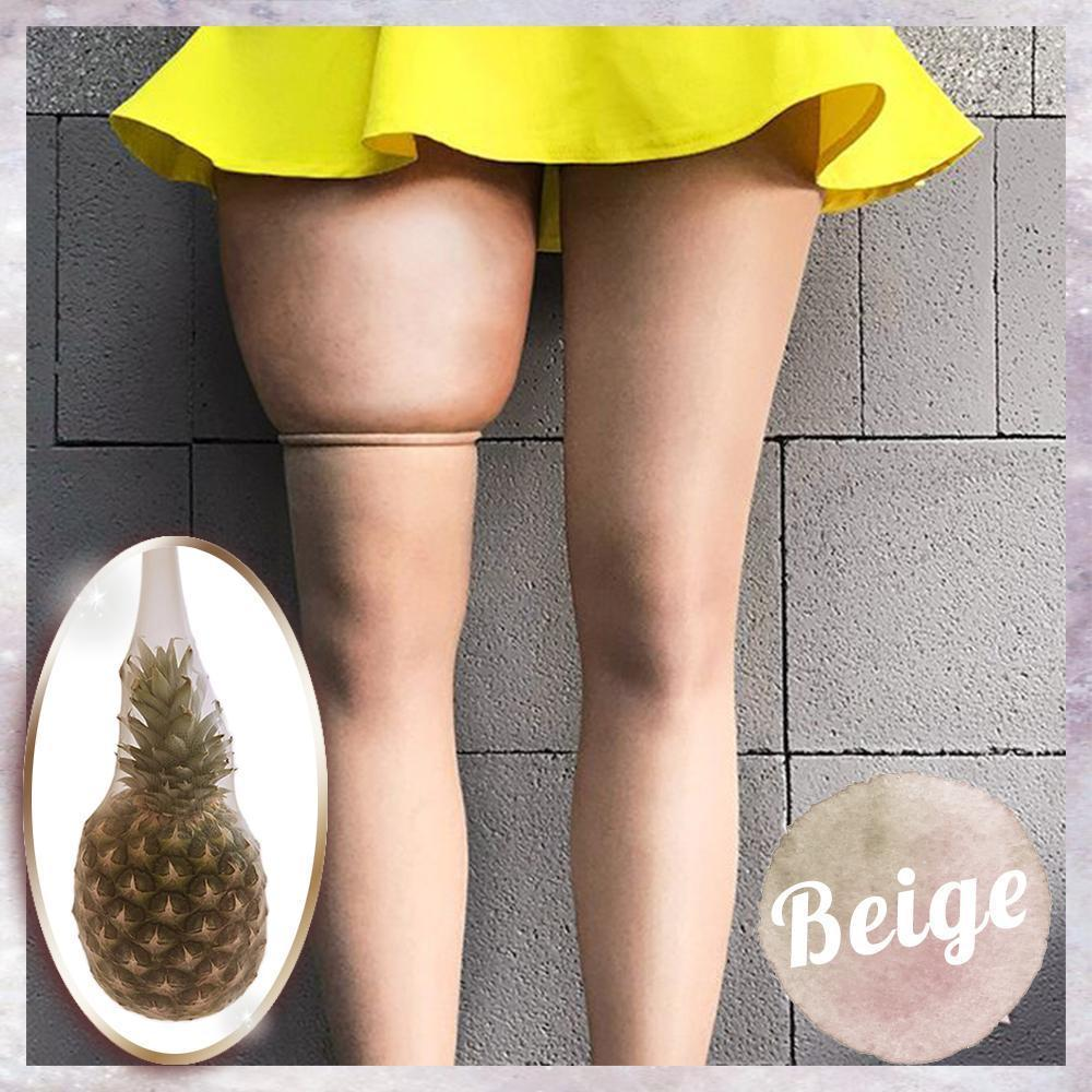 4D Shaping Pineapple Pantyhose