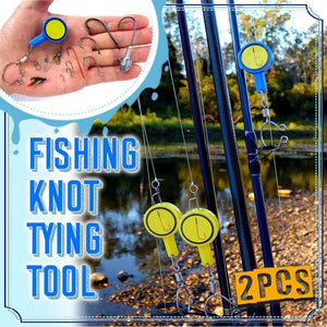 Fishing Knot Tying Tool (2Pcs)