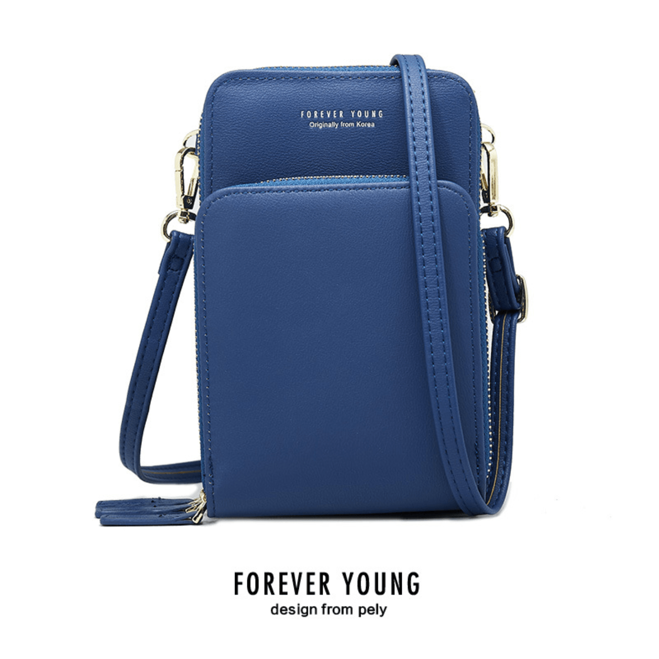 Forever Young Multi-Pocket Crossbody Bag