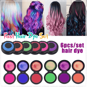 Fast Hair Dye Set (6 colors / Set)