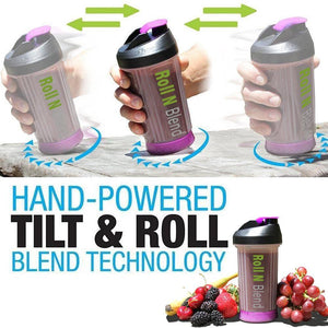 Roll N Blend™ Non-Electric Portable Blender