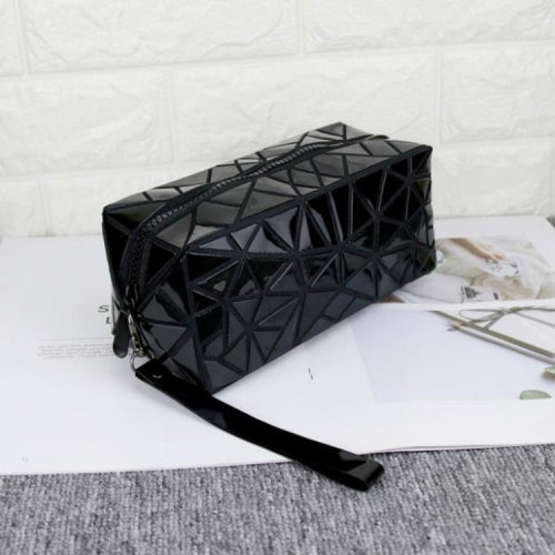 Geometric Design Waterproof Cosmetic Bag