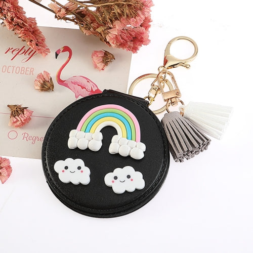 Rainbow Tassel Double-sided Mirror