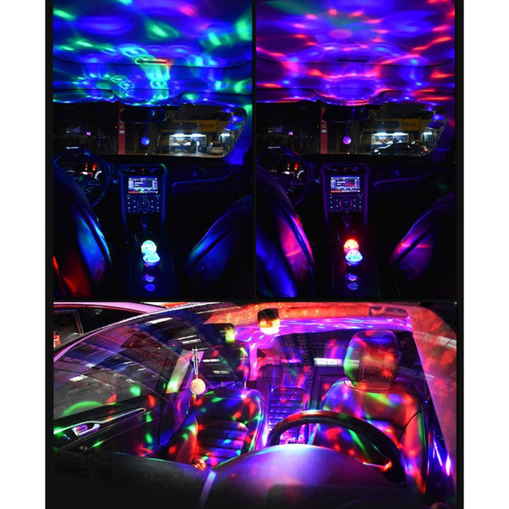 Universal Car Stage Party USB LED Lamp