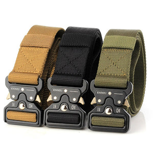 Wild  Snake Buckle Outdoor Casual Nylon Belt