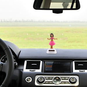 Solar Bobble Head Dancing Toy for Car