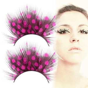 Spot Design False Eyelashes