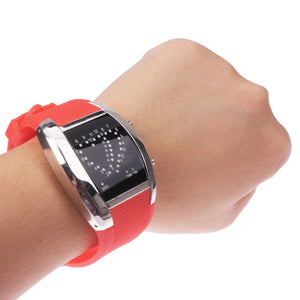 Red LED Digital Watch