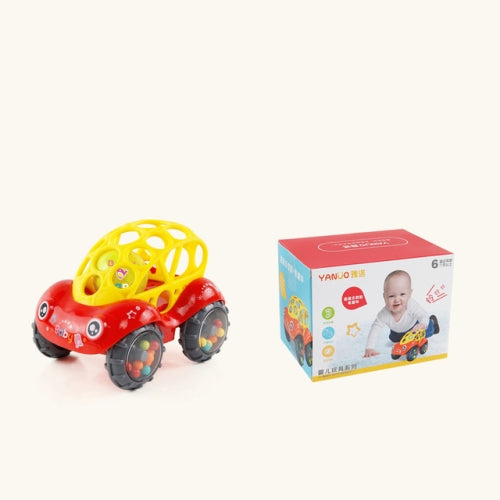 Baby Plastic Rattles Car Toy