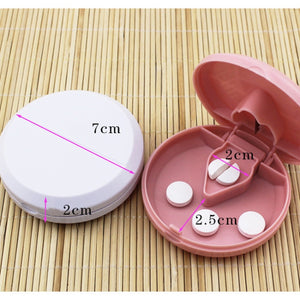 Portable Medicine Cutter & Dispensing Box