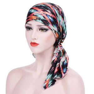 Stretch Printed Turban Cloth