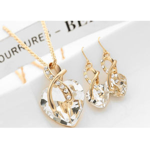 Hold My Heart Jewelry Set for Women