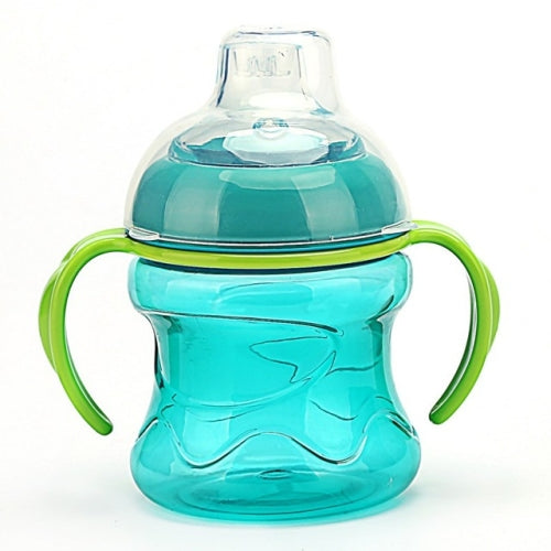Cute Hobbits Training Bottle with Double Grip