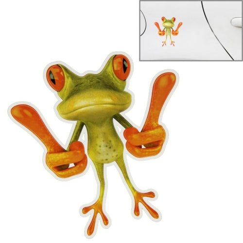 Frog Pattern Car Sticker