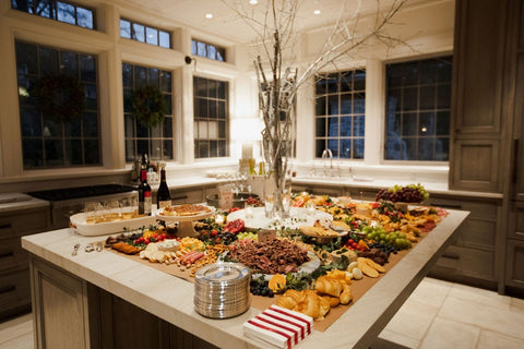 Private house party, grazing table