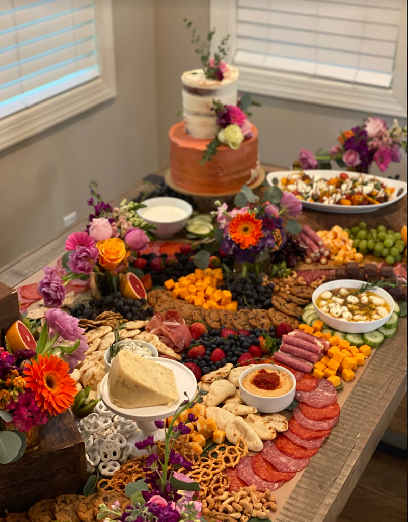 A Vibrant 40th Surprise Birthday Banquet