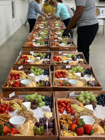 Table and thyme corporate graze boxes