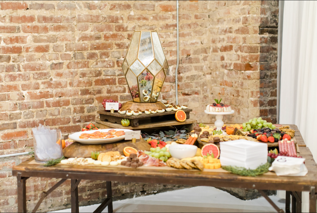 Dazzling Summer Spread with Magnolia Vine Events grazing table