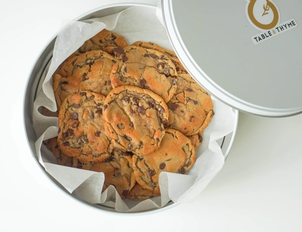 table and thyme famous chocolate chip cookies