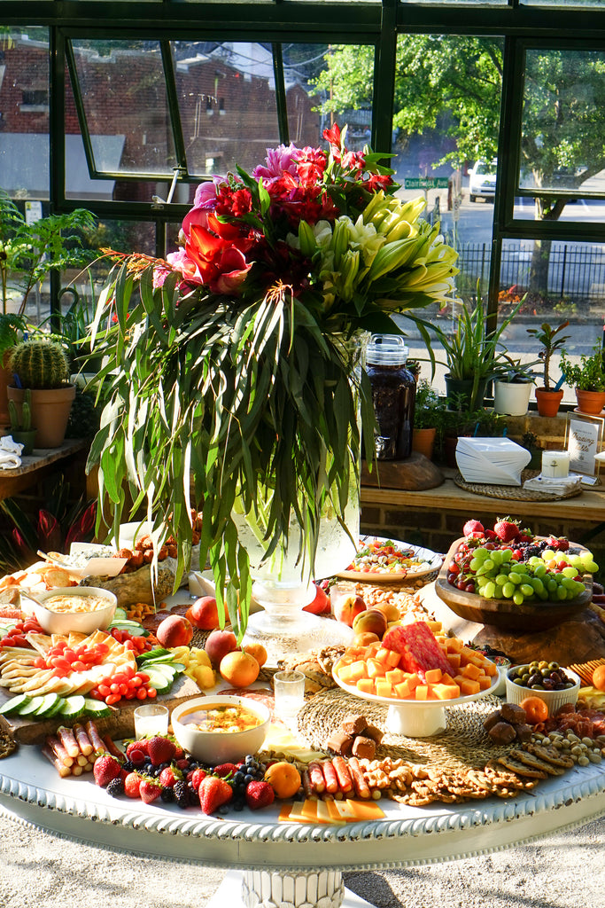 Scenic Garden Lunch Spread at The Shoppe
