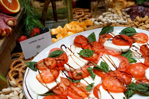 caprese salad table and thyme carolyn wade