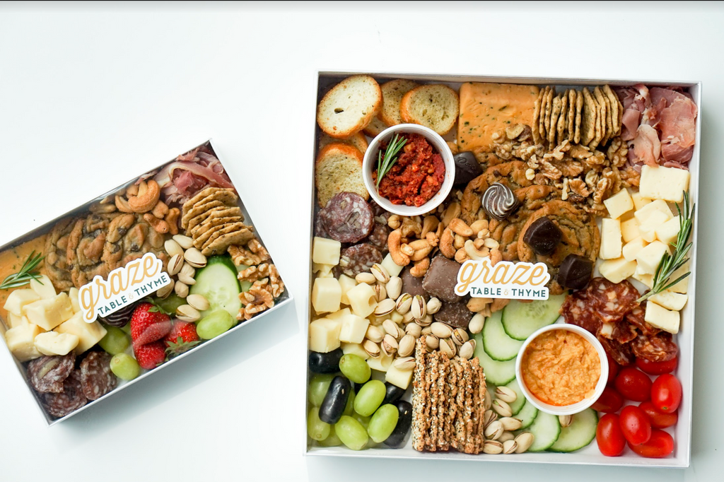 table and thyme graze boxes