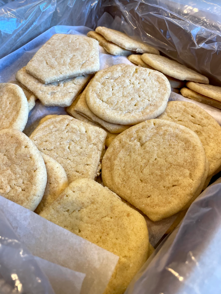 table and thyme sugar cookies