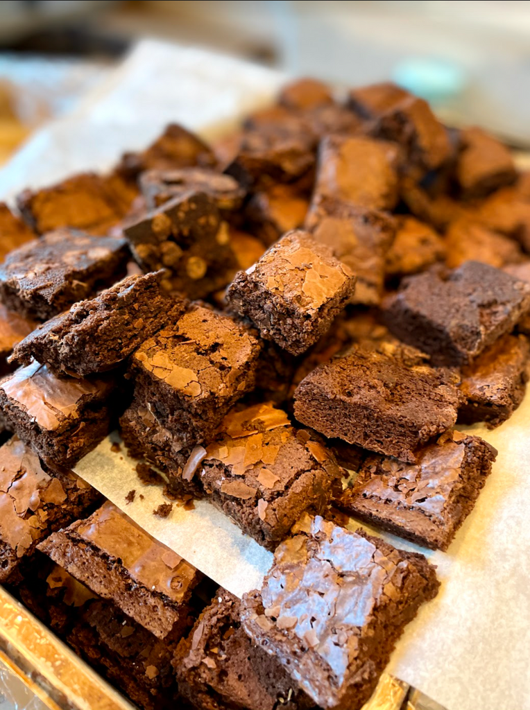 Table and Thyme brownies