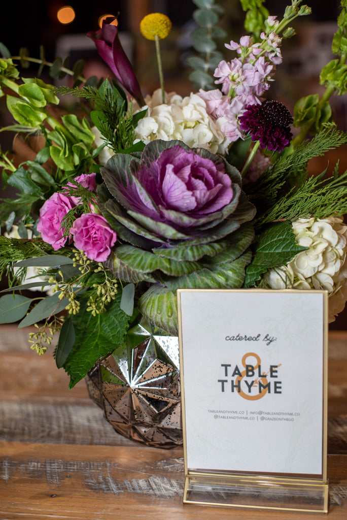 Honeywood Birthday Florals with Sign