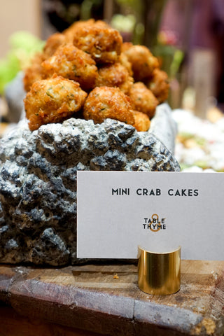 mini crab cakes table and thyme carolyn wade