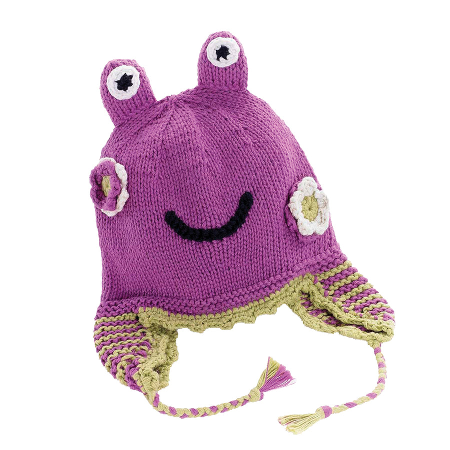 Mulberry Frog Hat