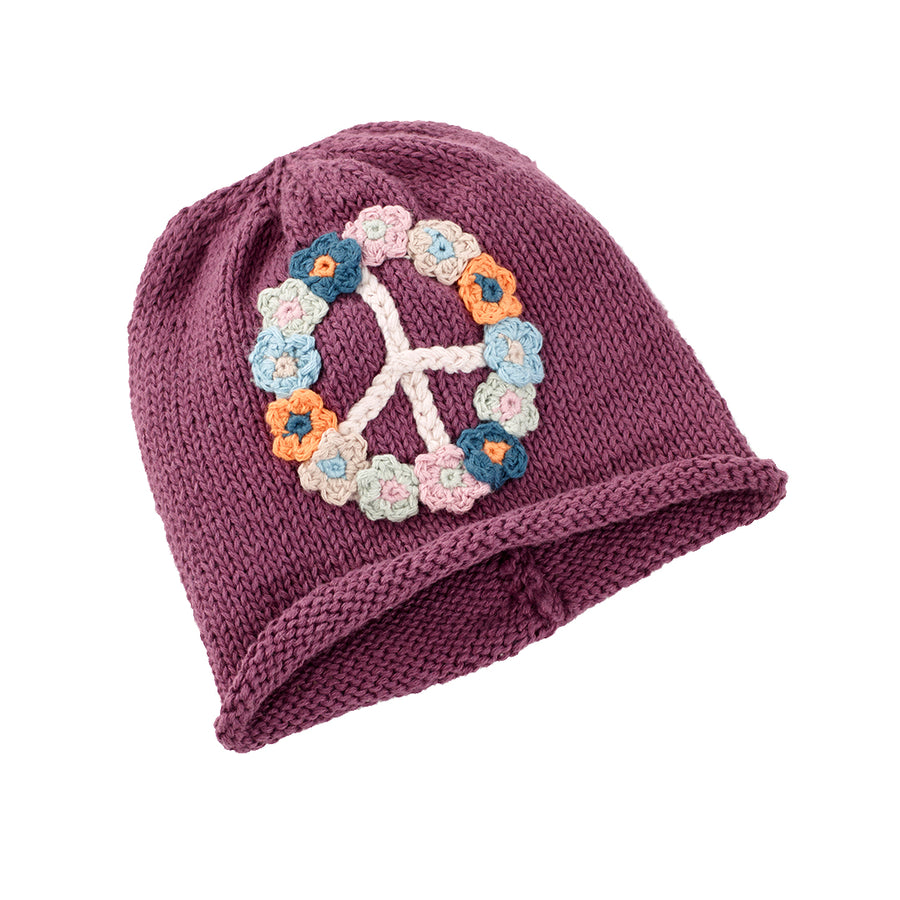 Flower Peace Hat