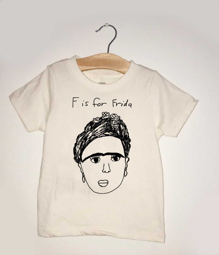 F is for Frida Youth Tee