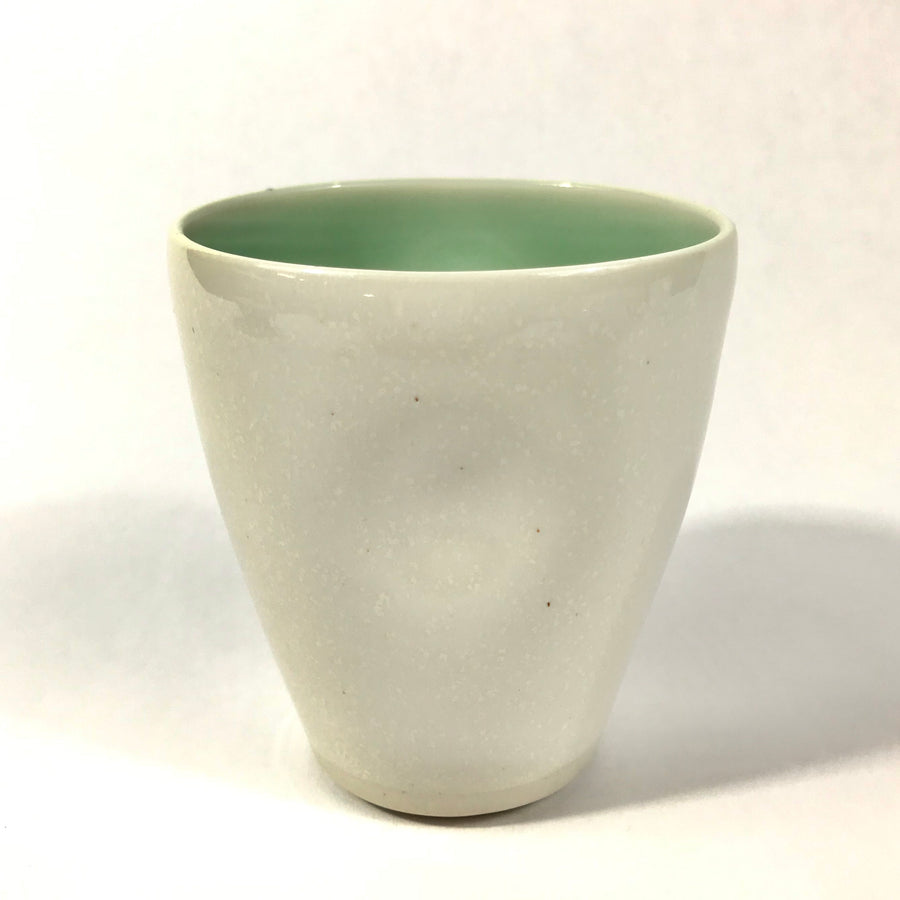White PInch Cup
