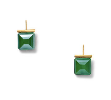 Swarovski Crystal Emerald Earrings