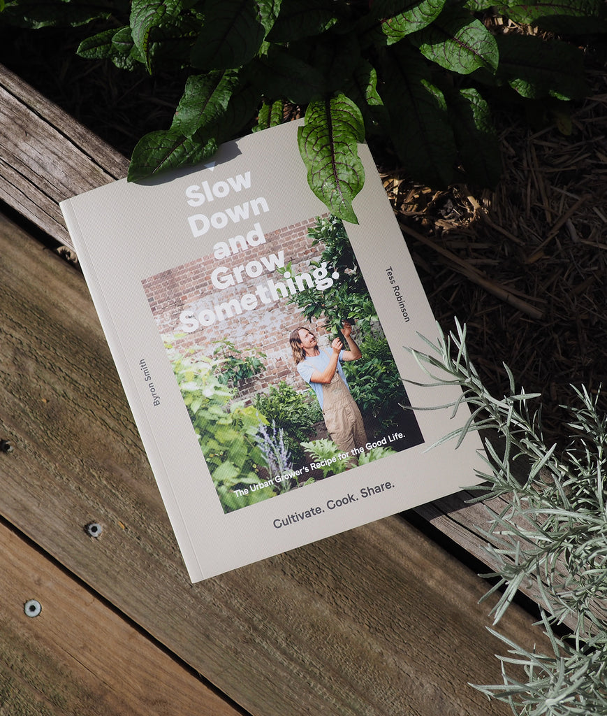 Slow Down & Grow Something, Book