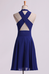 Simple Homecoming Dresses V-Neck A Line Short/Mini
