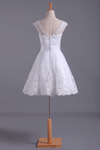 White Unique Homecoming Dress A Line Short/Mini Tulle With