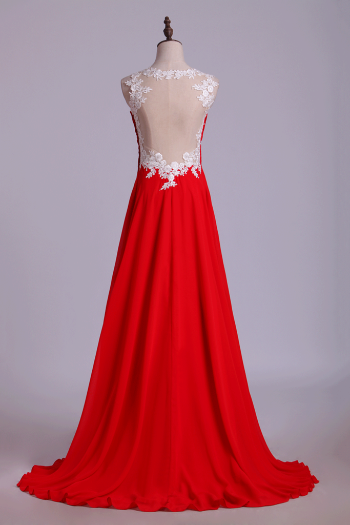 Prom Dresses Straps A Line Floor Length With