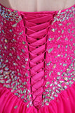 Sweetheart Ball Gown Floor Length Dress Beaded Bodice Corset Tie Back