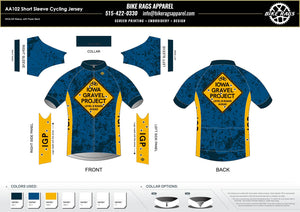 Iowa Gravel Project - Short Sleeve Jersey