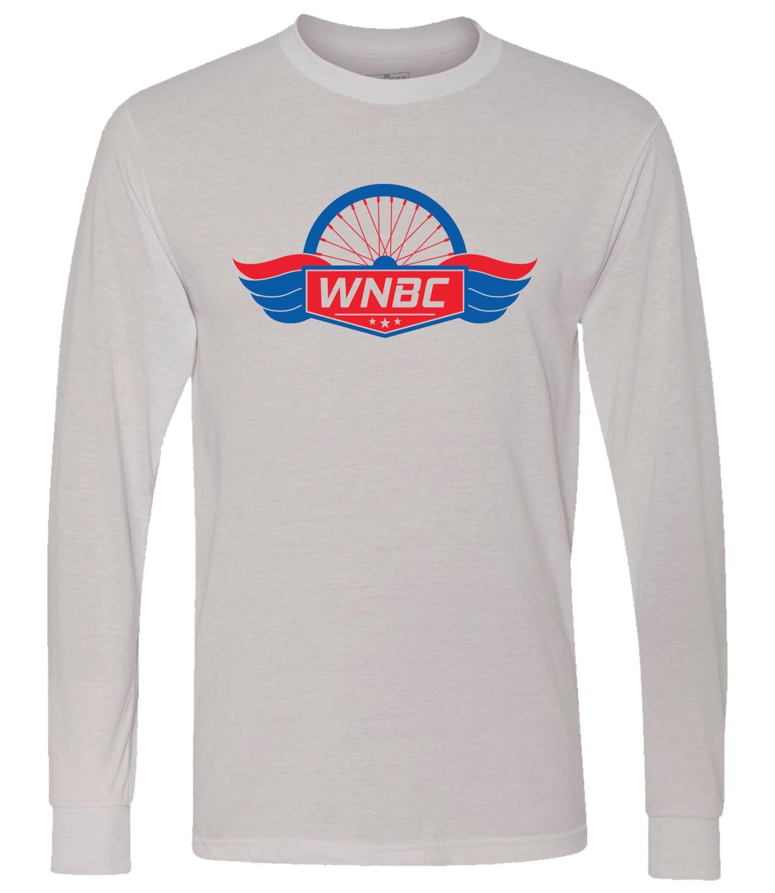 WNBC - Long Sleeve T-Shirt - Silver