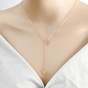 Allovely Simple Love Pendant Necklace