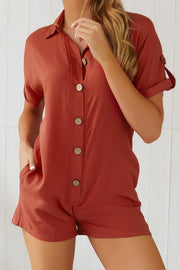 Allovely Button Thru Playsuit