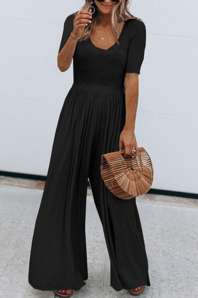 Allovely Wide Pant Jumpsuit