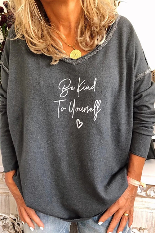 Allovely Be Kind To Yourself T Shirt