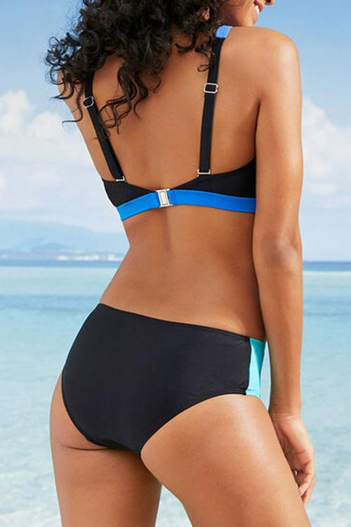 Allovely High Cut Sporty Bikini