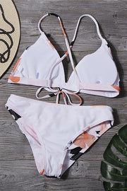 Allovely Sweet Flower Print Bikini
