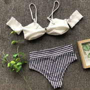 Allovely High Waist Polka Dot Bikini
